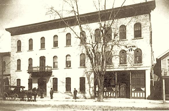ギデオン発祥のホテル